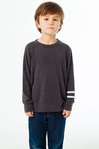 boy chaser knit crew long sleeve tshirt