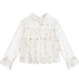 girl ruffle blouse