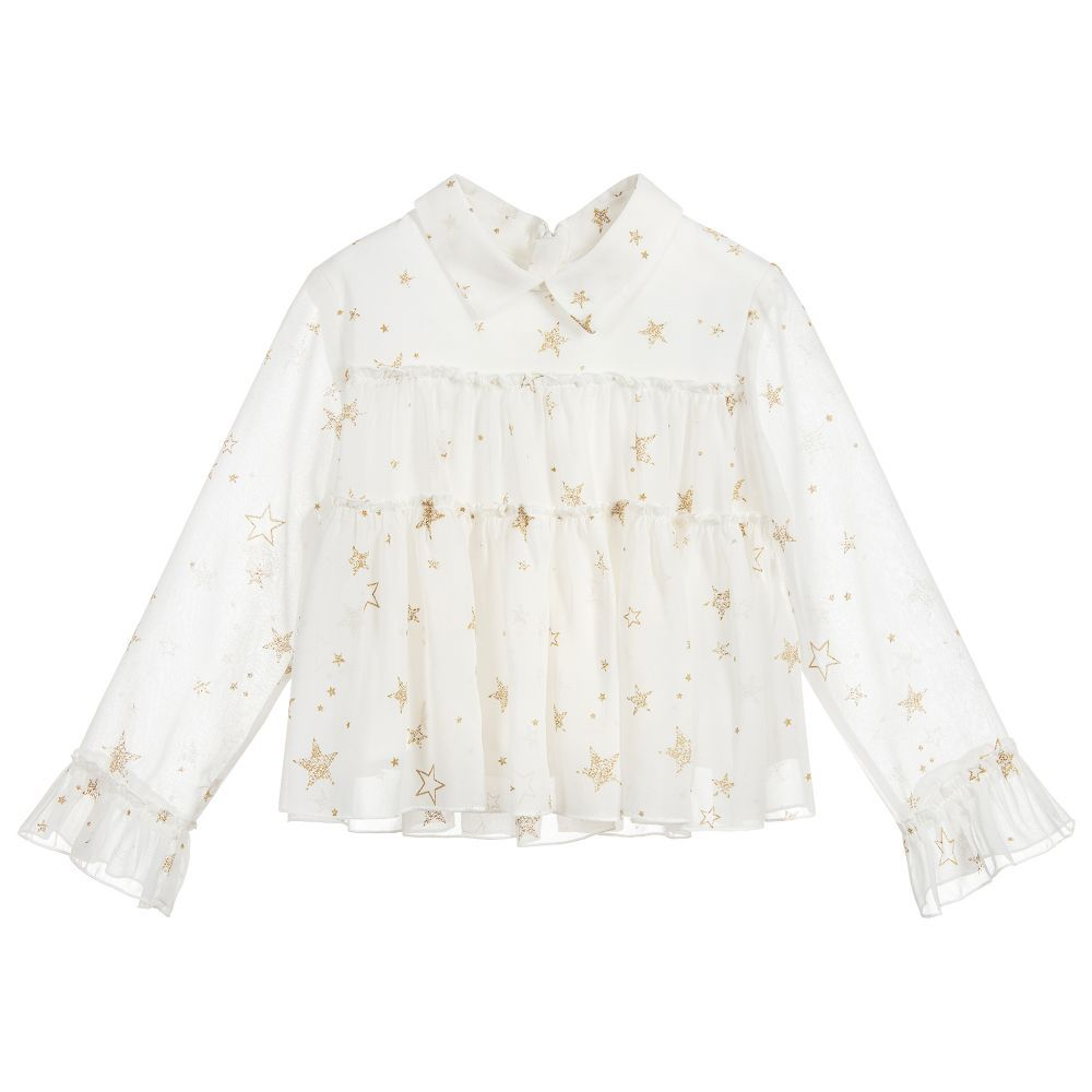 girl ruffle blouse