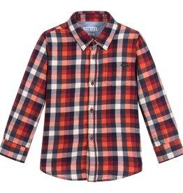 boy l/s plaid shirt