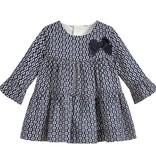 little girl ruffle print dress