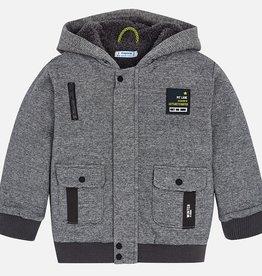 boy textured lines jacket