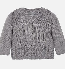 girl cable knit sweater