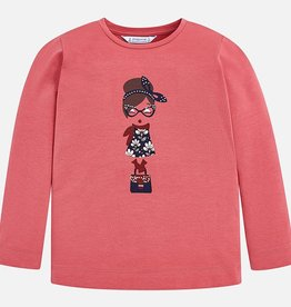 girl l/s fashionista t-shirt