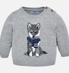 little boy mayoral baby wolf sweater