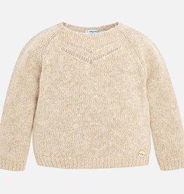 girl shimmer sweater