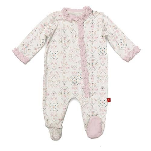 baby magnetic modal footie
