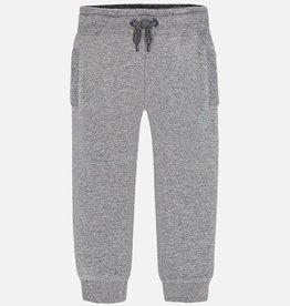 boy basic cuffed fleece trousers