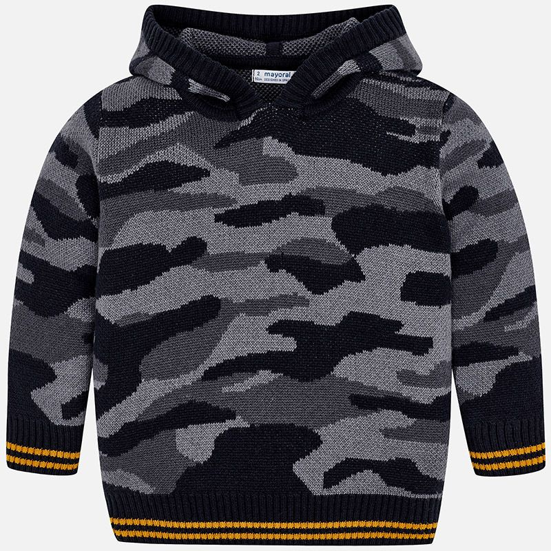 boy camouflage sweater