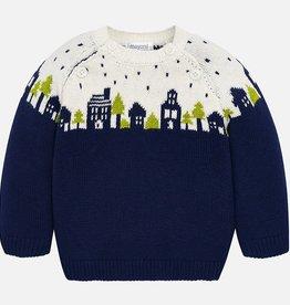 little boy mayoral jacquard sweater