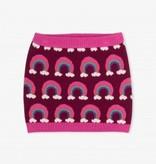 girl sweater skirt