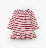little girl flounce hem dress