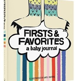 book firsts & favorites - baby journal