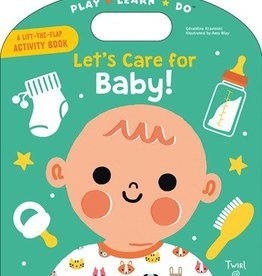 book let's care for baby! activity book
