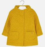 girl mayoral boucle coat