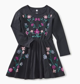 master nordic floral skater dress