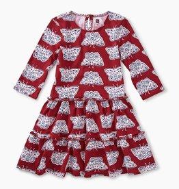 master tiered winter dress