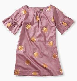 master ruffle sleeve dress