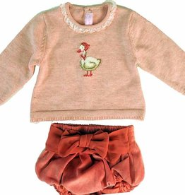 baby girl *sale* mayoral mother goose jersey & knicker set