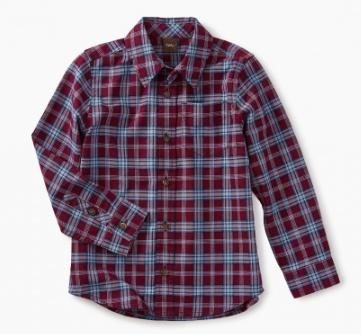 master lakeshore plaid button shirt