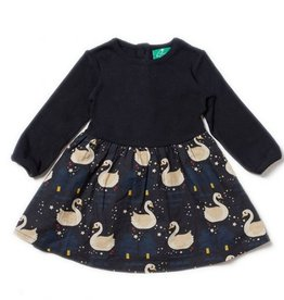 little girl little green radicals (organic) twirler dress