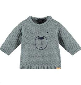 little boy babyface chunky knit sweater