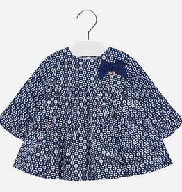 little girl mayoral ruffle print dress
