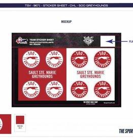 Team Sticker Sheet