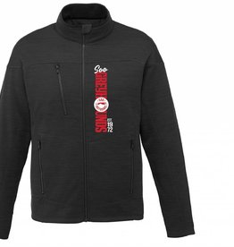 Black Full Zip Fleece Jacket M