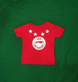 Red Infant T-Shirt - 6 months