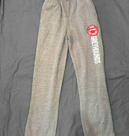 Campus Crew Kids Fleece Pant Charcoal M