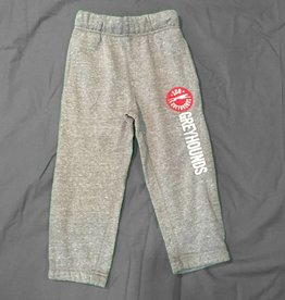 Campus Crew Toddler Fleece Pant Charcoal Size S