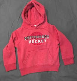 Campus Crew Toddler Hoody Red Size XL