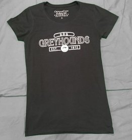 Campus Crew Ladies Black Tshirt L