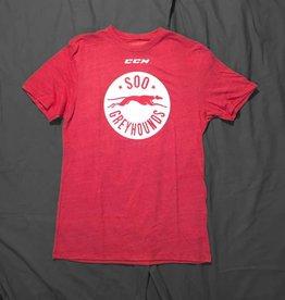 CCM Team Logo Red T-Shirt - XXL