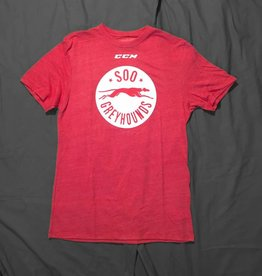 CCM Team Logo Red T-Shirt - XL