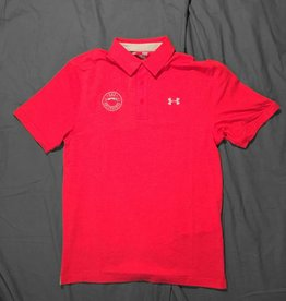 Under Armour Red Polo L