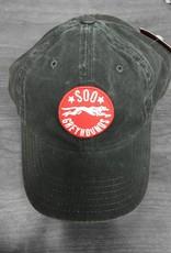 New Raglan Adj. Black hat