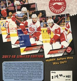 Player Cards 17/18 Season
