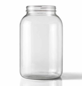 WIDE MOUTH CLEAR ONE GALLON GLASS JUG 4/CASE