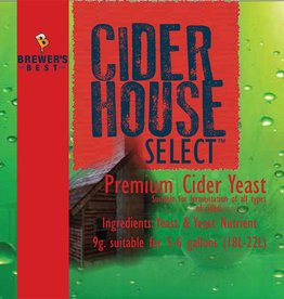 Cider House Select CIDER HOUSE SELECT CIDER YEAST SACHET 9 GRAMS