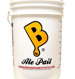 """ALE PAIL"" 6.5 GALLON FERMENTING BUCKET"