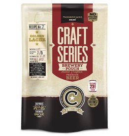 Mangrove Jack's MJ Craft Series: Golden Lager  - Brewery Pouch