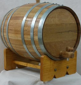 5 Gallon Oak Barrel
