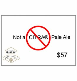 Not A Citra Pale Ale