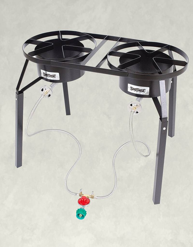 Lovely Bayou Classic Dual Burner Patio Stove, ...
