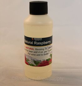 Brewer's Best Natural Raspberry Flavoring – 4 Oz