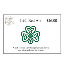 Irish Red Ale 5 Gal Beer Recipe Kit