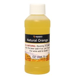 Brewer's Best Natural Orange Flavoring – 4 Oz