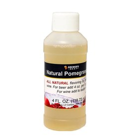 Brewer's Best Natural Pomegranate Flavoring – 4 Oz